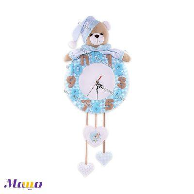 ساعت خرس مامو آبی