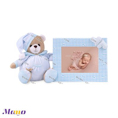 قاب عکس خرس مامو آبی