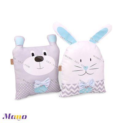 گارد عروسکی خرگوش و خرس آبی