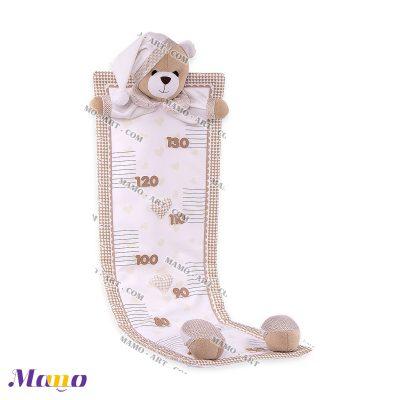 متر قد عروسکی خرس مامو - بهترین سیسمونی نوزاد و دکوراسیون اتاق کودک
