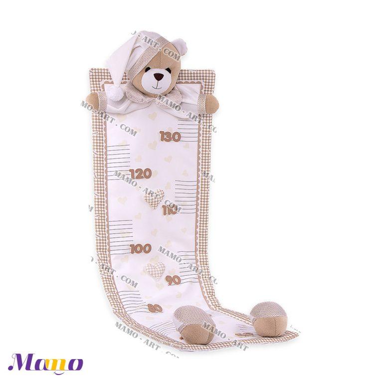 متر قد عروسکی خرس مامو ( نانان )- بهترین سیسمونی نوزاد و دکوراسیون اتاق کودک