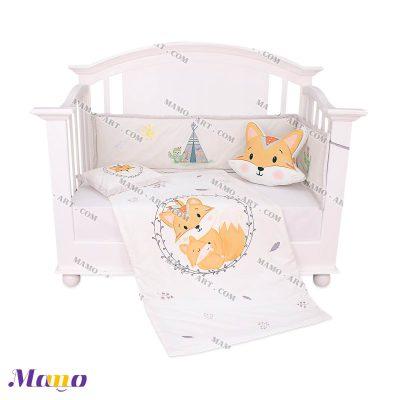سرویس خواب مخمل نوزاد روباه مامو