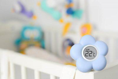دماسنج دمای اتاق نوزاد - بهترین سیسمونی نوزاد و دکوراسیون اتاق کودک