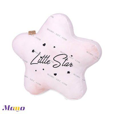 کوسن عروسکی مخمل ستاره مامو