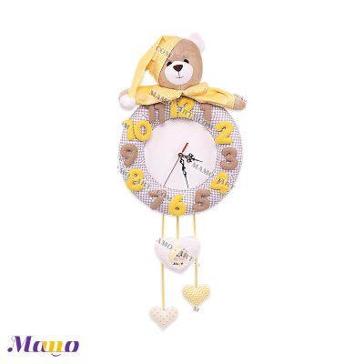ساعت خرس مامو لیمویی
